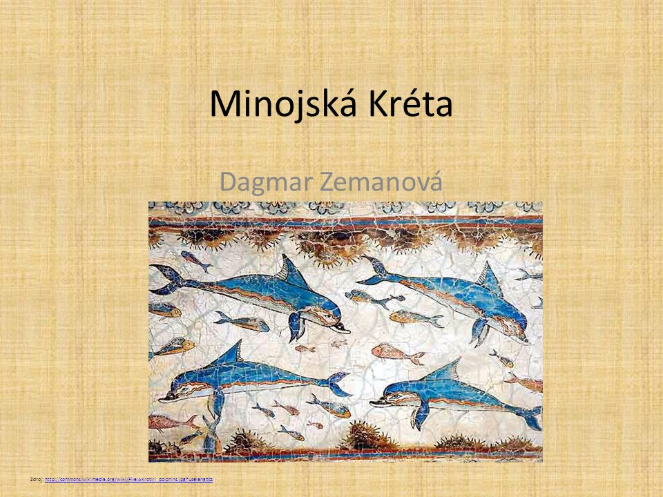 Minojská Kréta Dagmar Zemanová