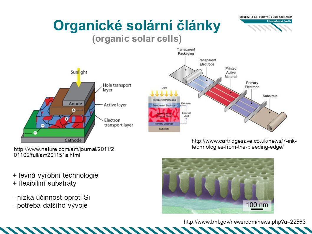 Organické solární články