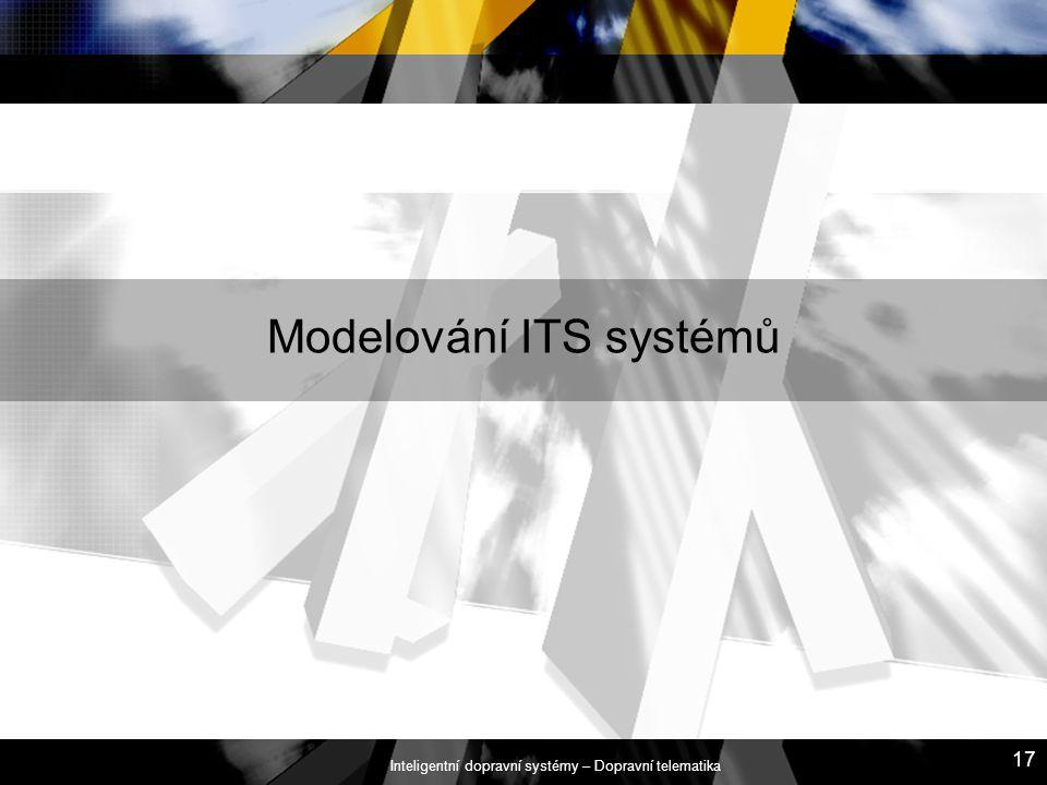 Modelování ITS systémů