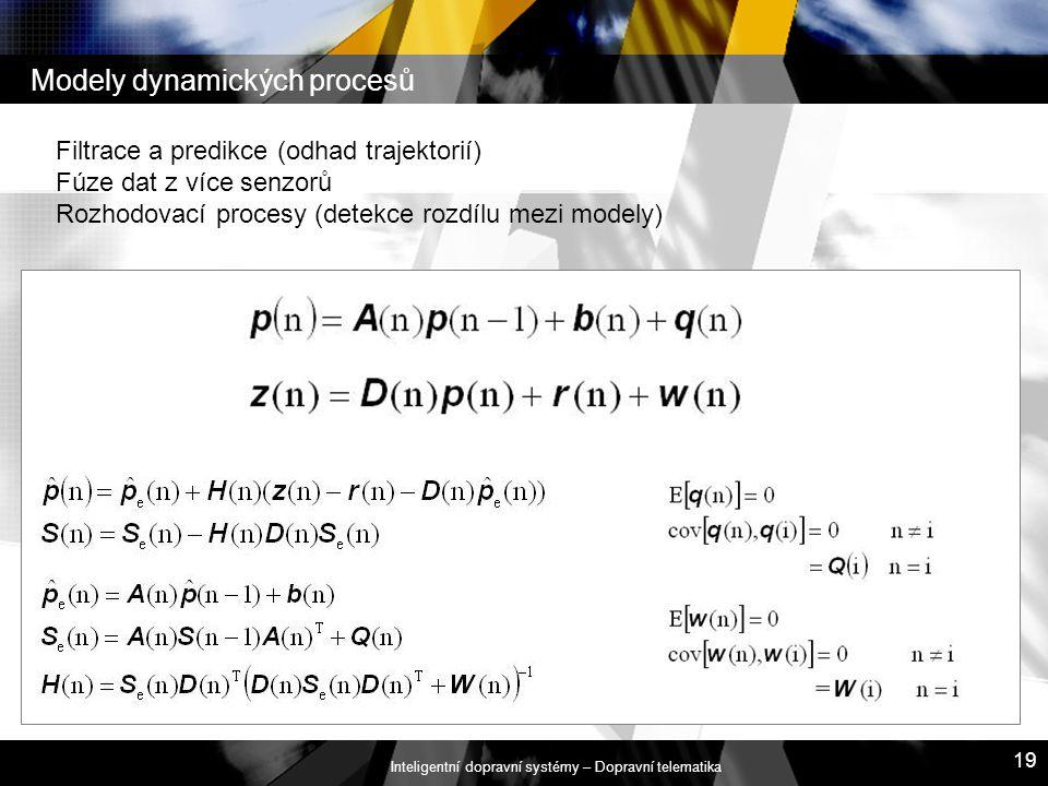 Modely dynamických procesů