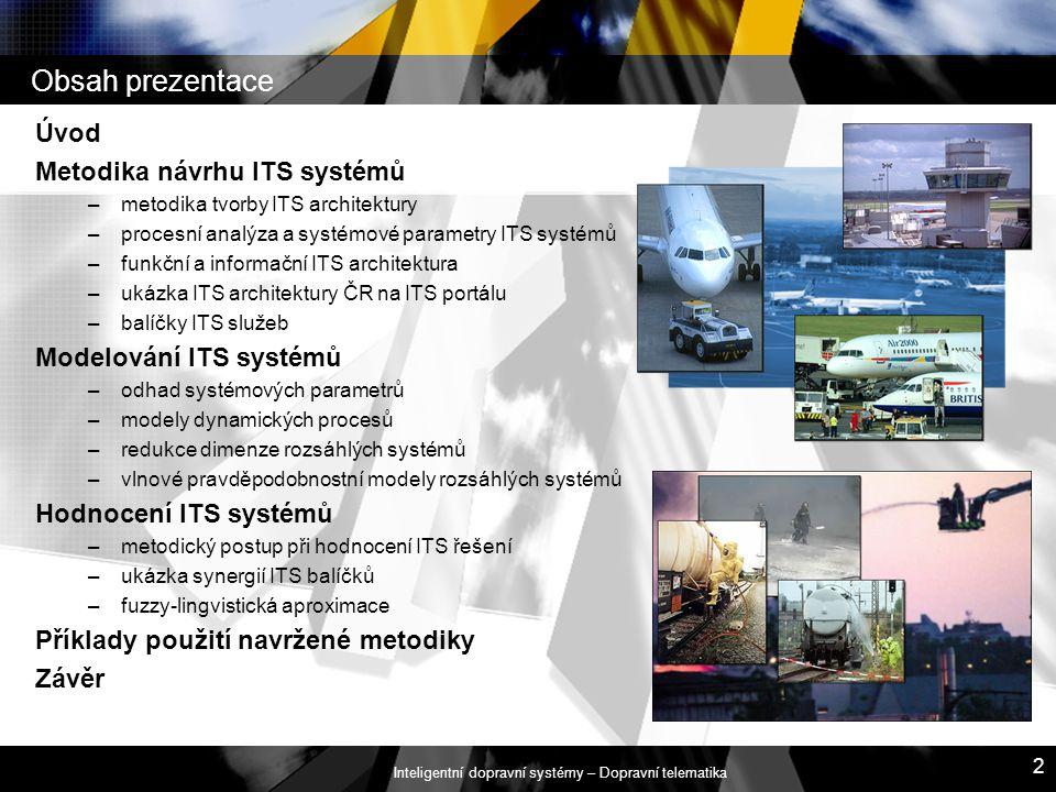 Inteligentní dopravní systémy – Dopravní telematika