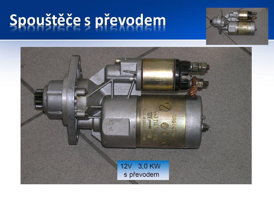 Spouštěče s převodem 12V 3,0 KW s převodem