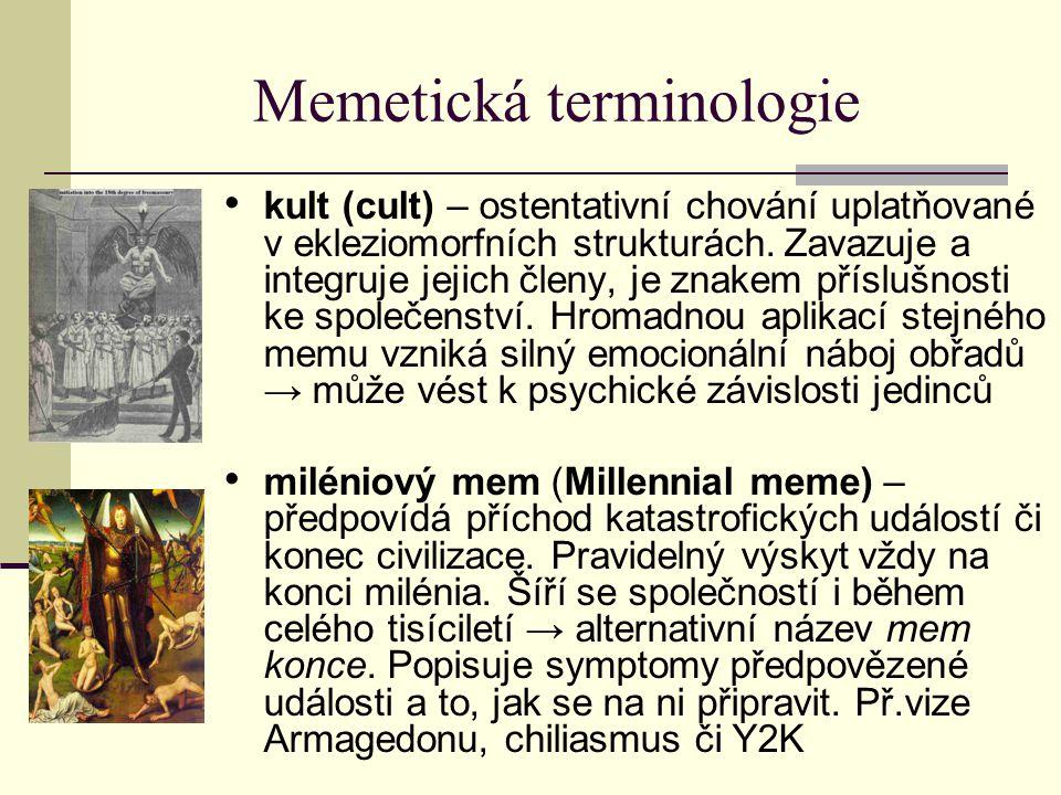 Memetická terminologie