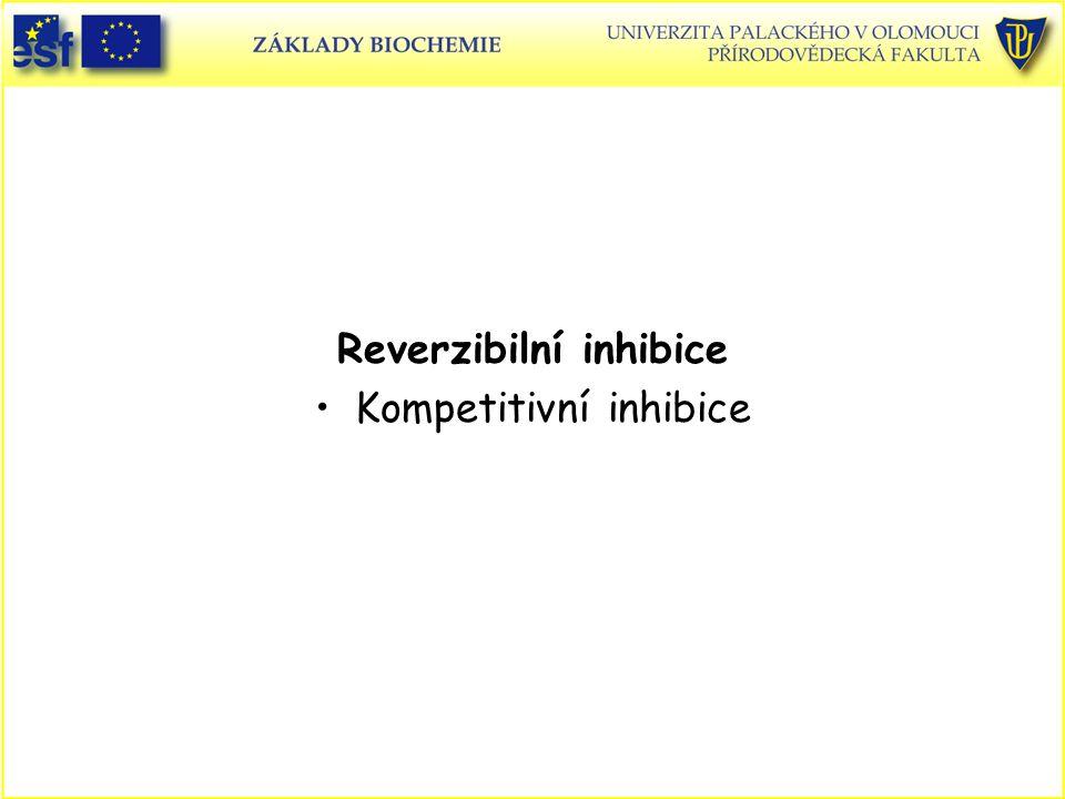 Reverzibilní inhibice