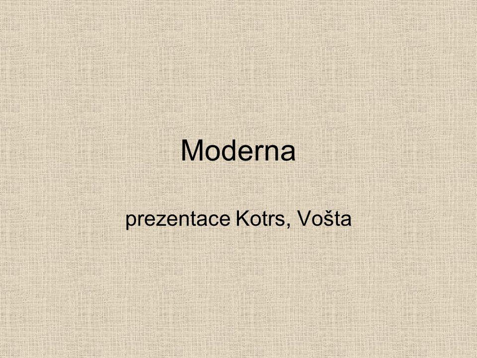 prezentace Kotrs, Vošta
