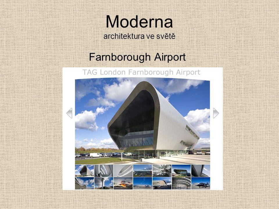 Moderna architektura ve světě