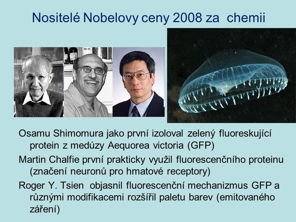 Nositelé Nobelovy ceny 2008 za chemii