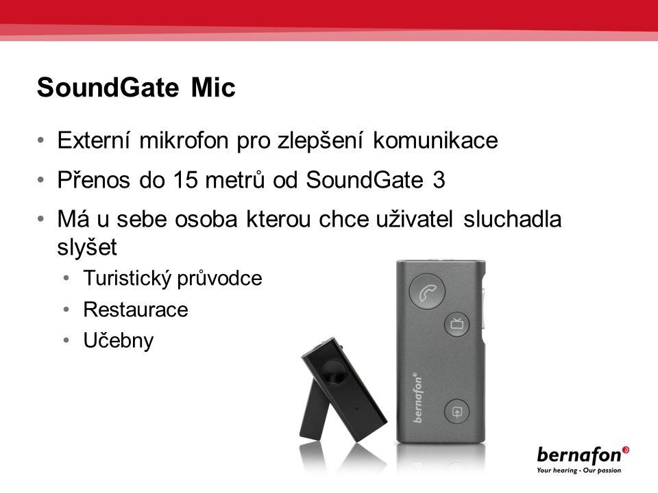 SoundGate Mic Externí mikrofon pro zlepšení komunikace