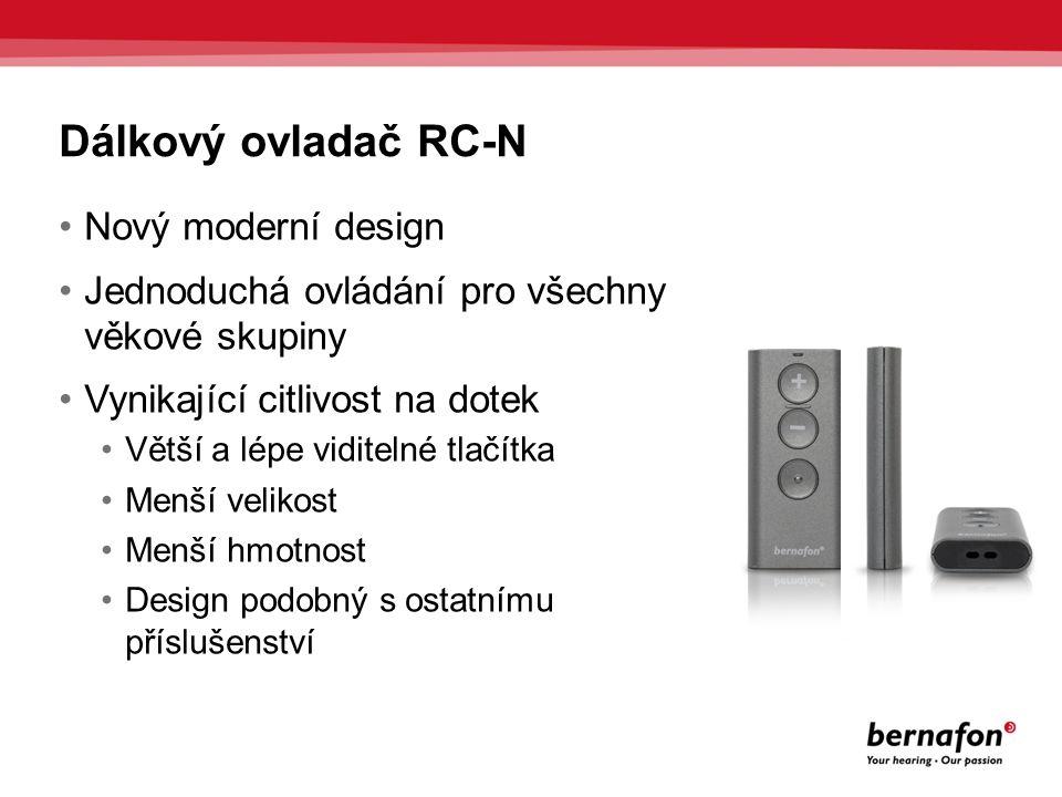 Dálkový ovladač RC-N Nový moderní design