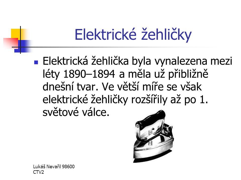 Elektrické žehličky