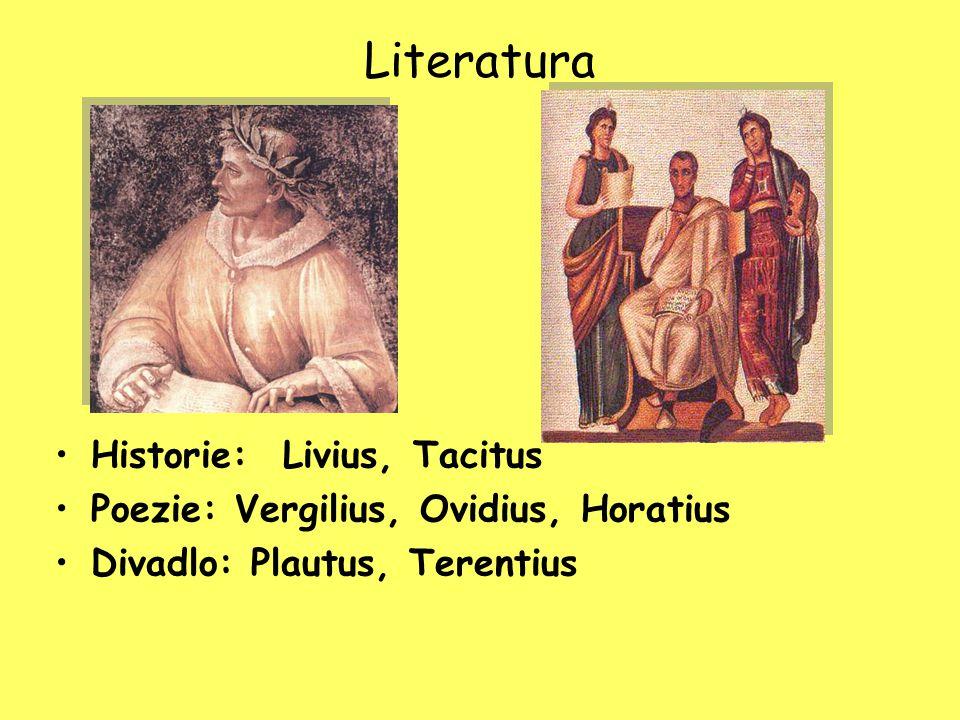Literatura Historie: Livius, Tacitus
