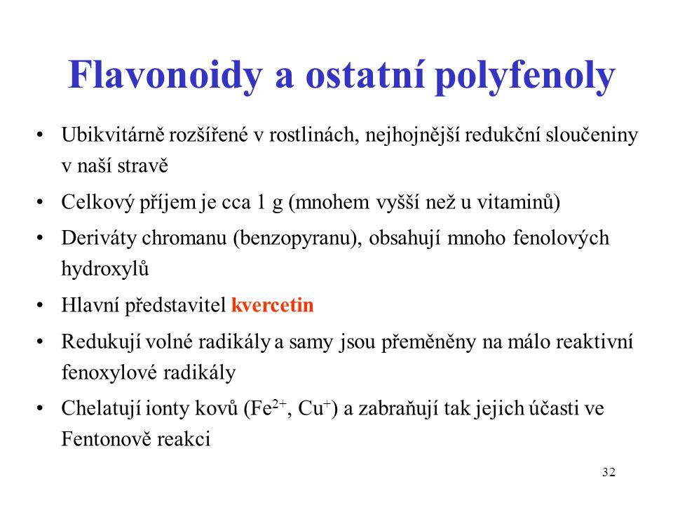 Flavonoidy a ostatní polyfenoly