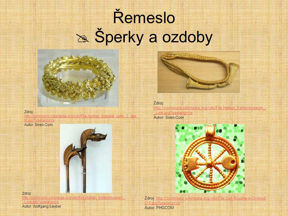 Řemeslo  Šperky a ozdoby