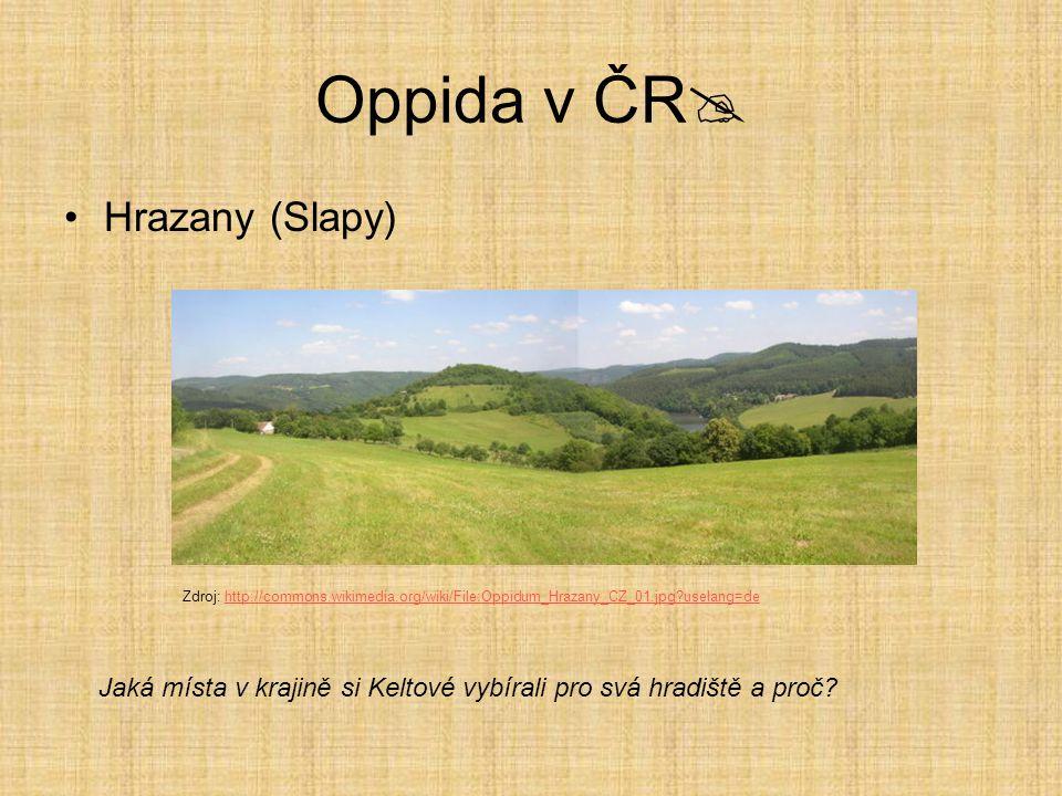 Oppida v ČR Hrazany (Slapy)