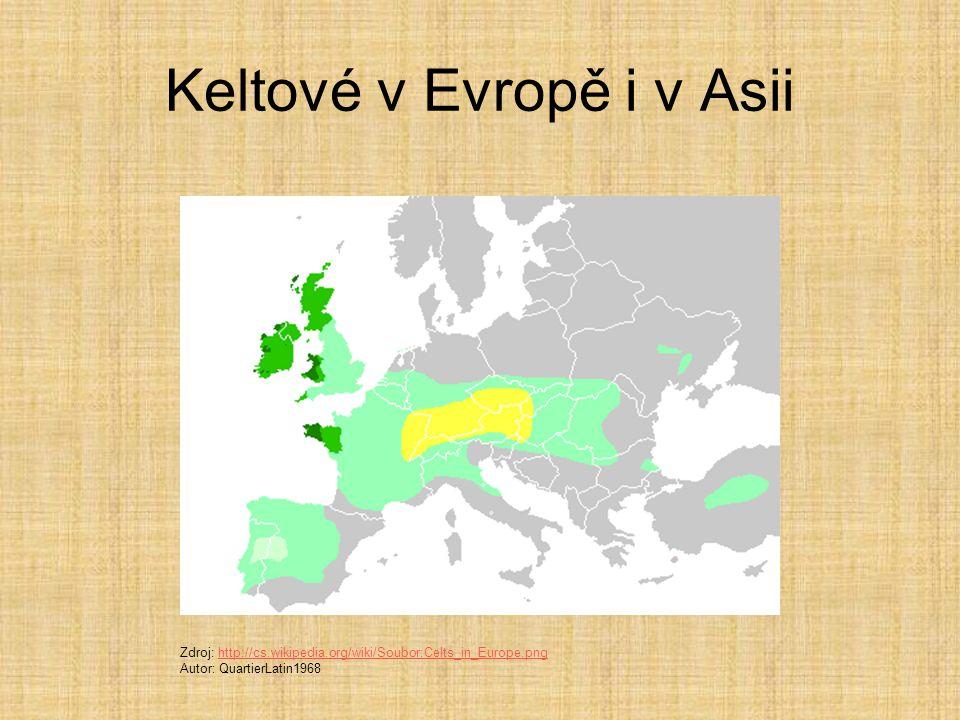 Keltové v Evropě i v Asii
