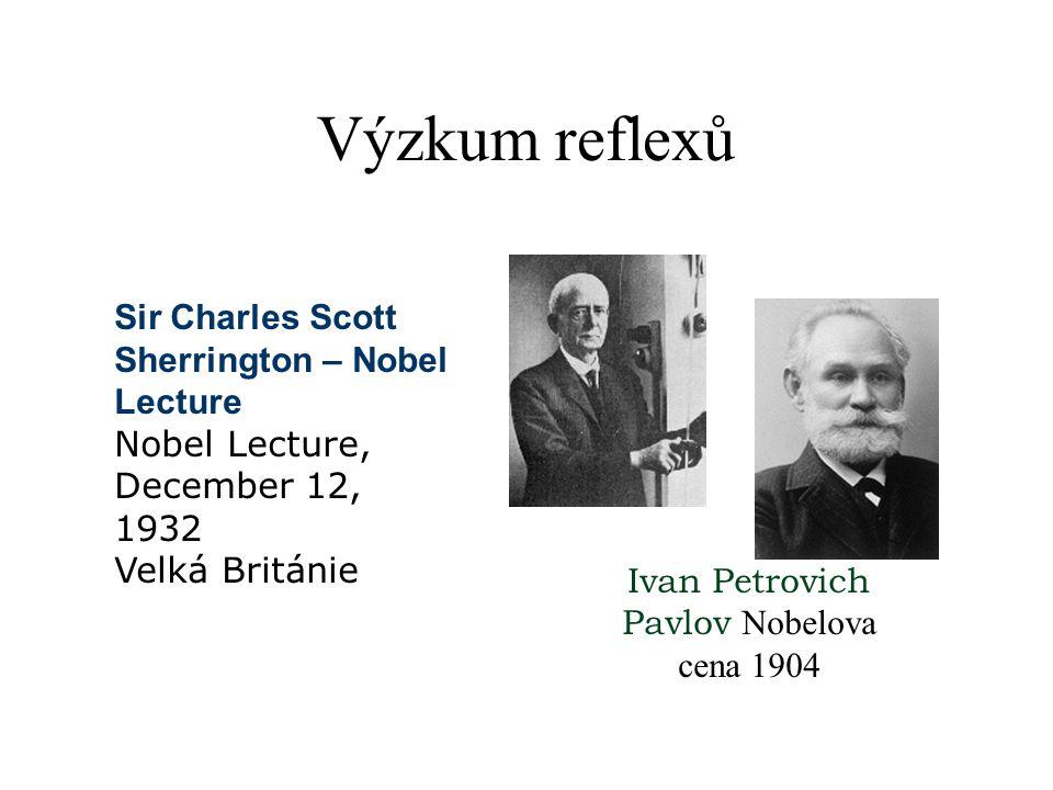 Ivan Petrovich Pavlov Nobelova cena 1904