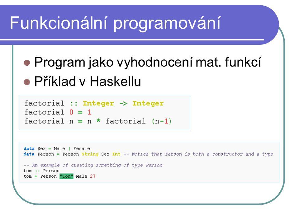 Funkcionální programování