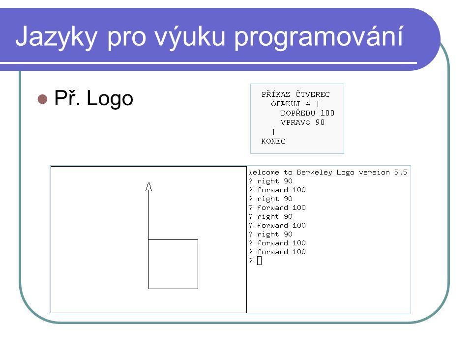 Jazyky pro výuku programování