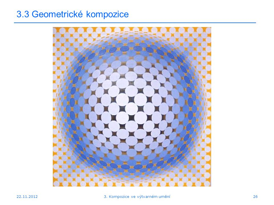 3.3 Geometrické kompozice