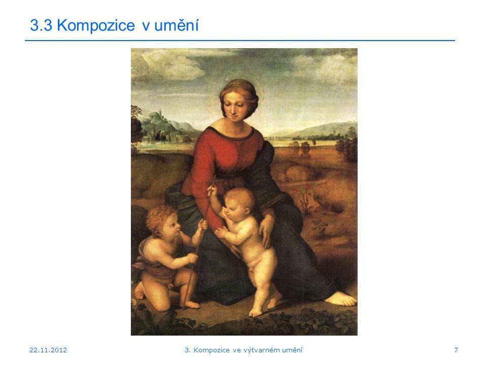 3. Kompozice ve výtvarném umění