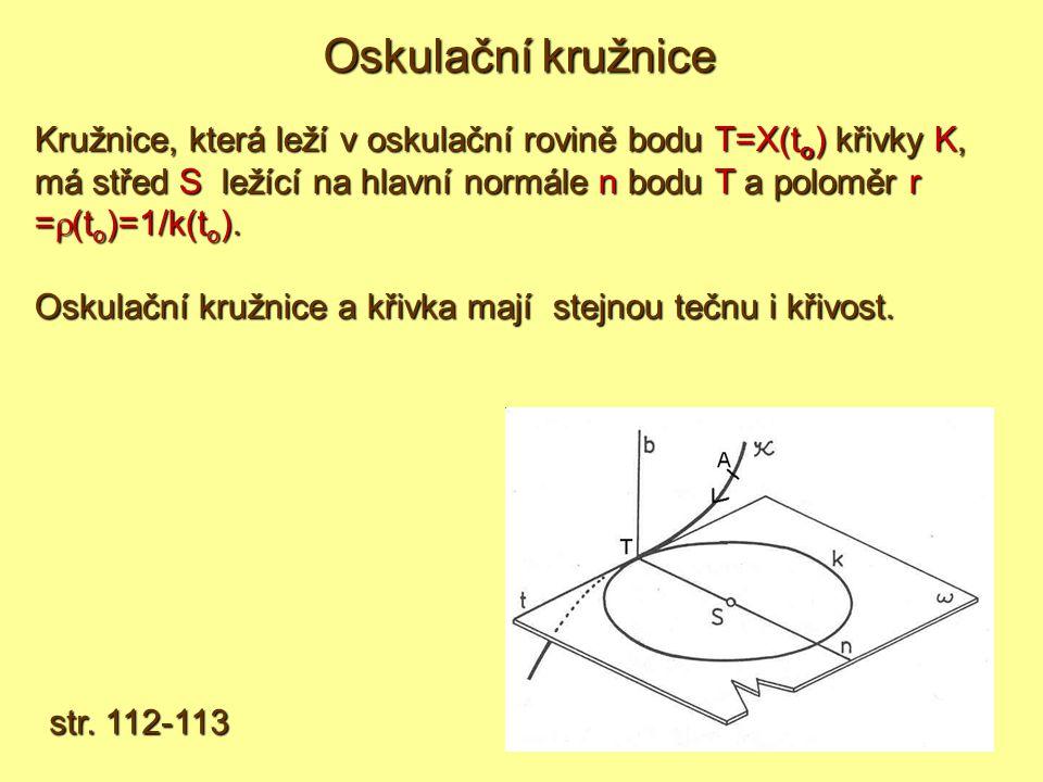 Oskulační kružnice