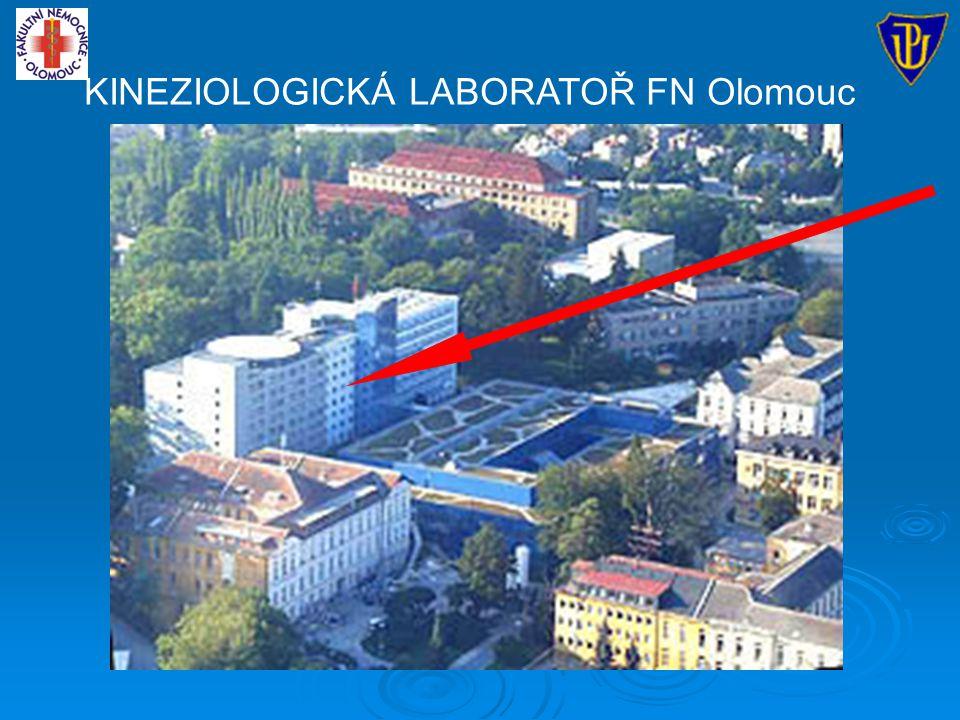 KINEZIOLOGICKÁ LABORATOŘ FN Olomouc