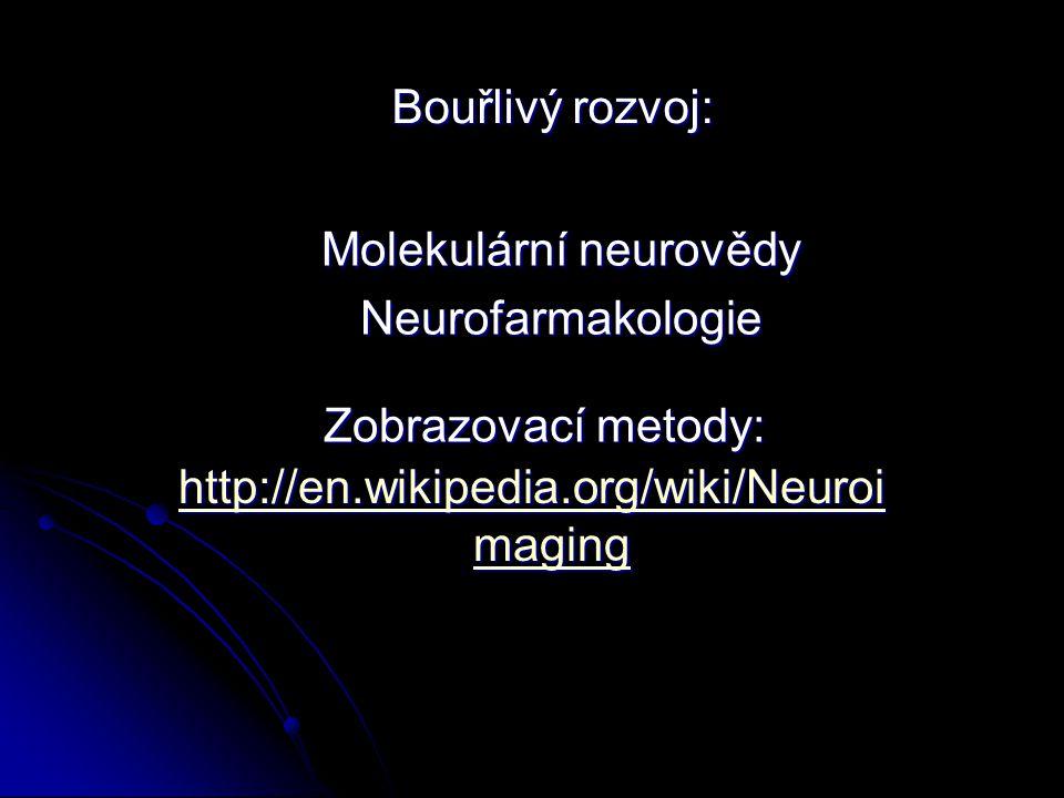 Molekulární neurovědy
