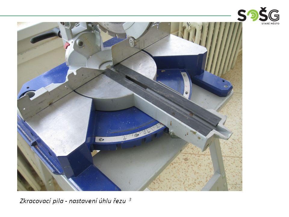 Vícekotoučová rozřezávací pila PWR 201 TOS Svitavy - detail