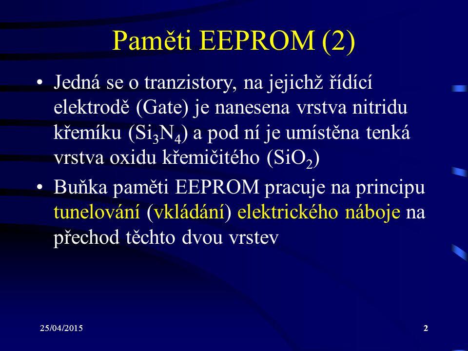 Paměti EEPROM (2)