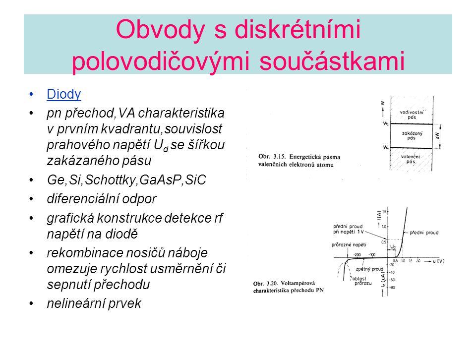 Obvody s diskrétními polovodičovými součástkami