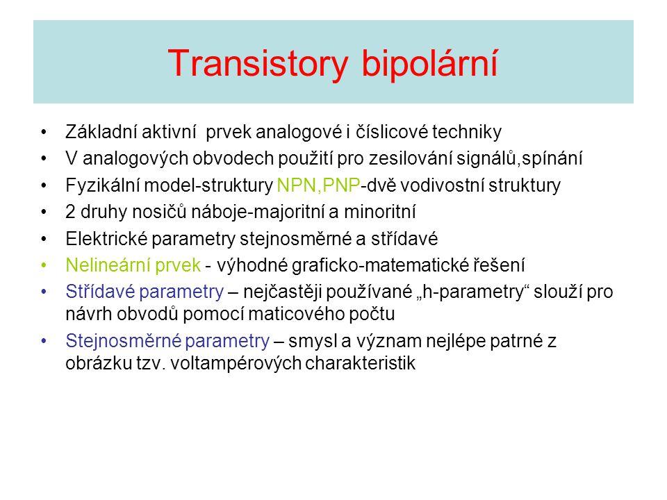Transistory bipolární