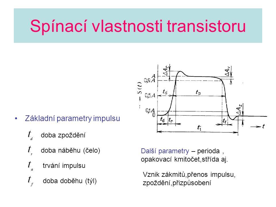 Spínací vlastnosti transistoru