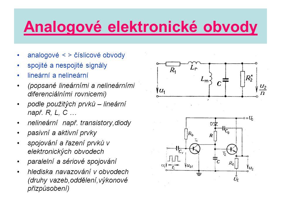 Analogové elektronické obvody