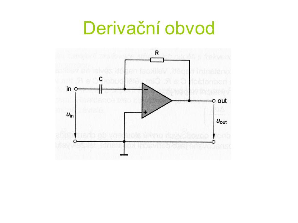 Derivační obvod