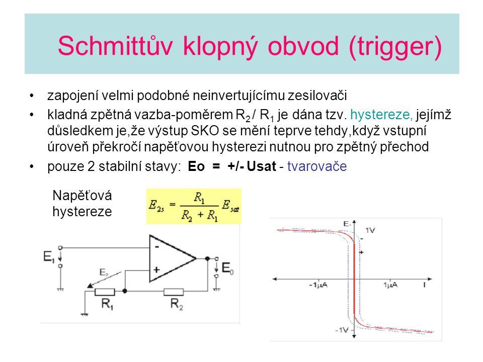 Schmittův klopný obvod (trigger)