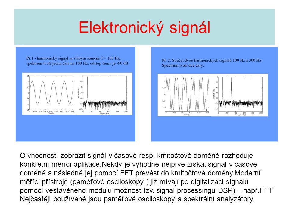 Elektronický signál