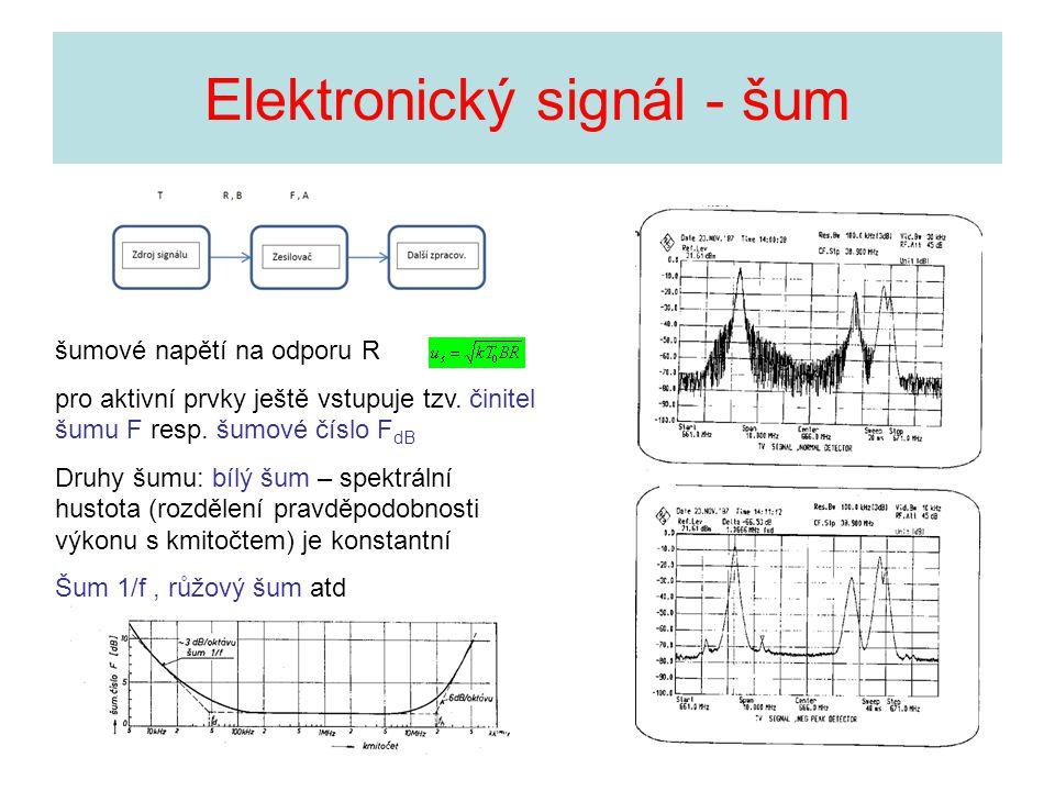 Elektronický signál - šum