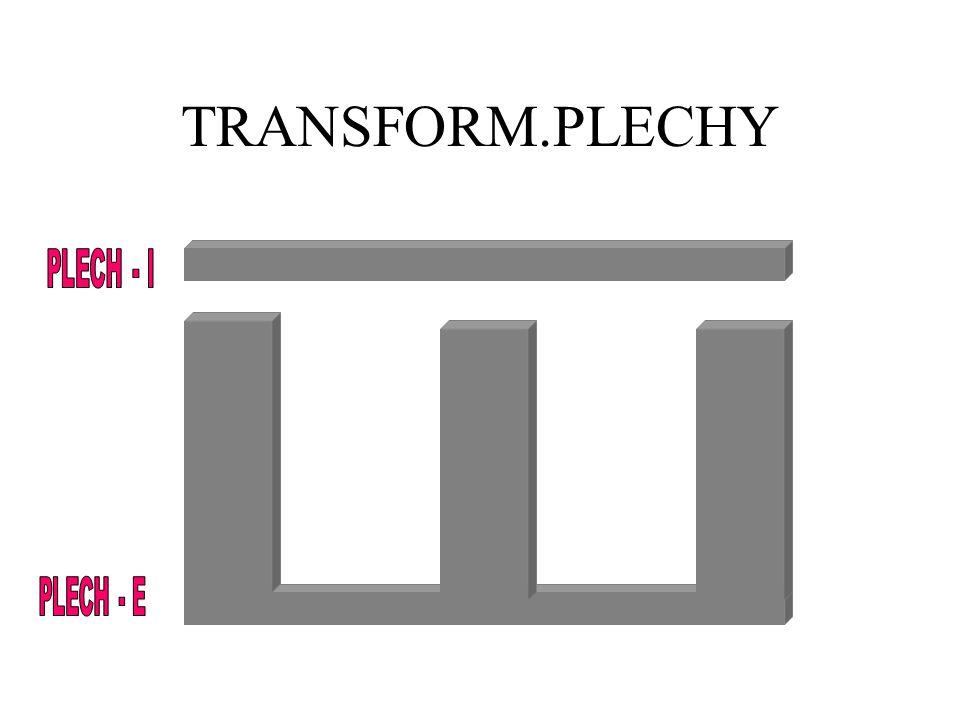 TRANSFORM.PLECHY PLECH - I PLECH - E