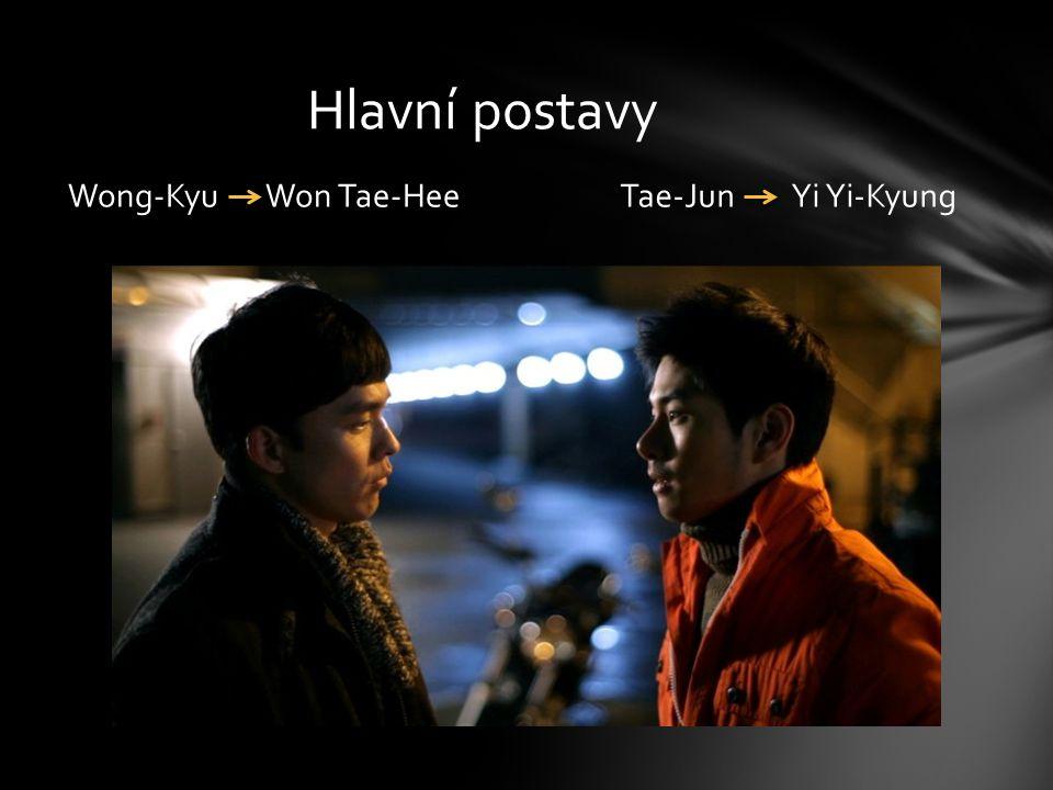 Hlavní postavy Wong-Kyu Won Tae-Hee Tae-Jun Yi Yi-Kyung