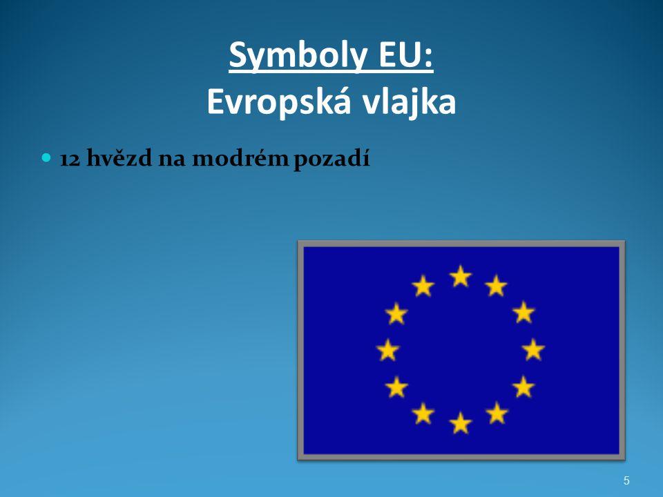 Symboly EU: Evropská vlajka