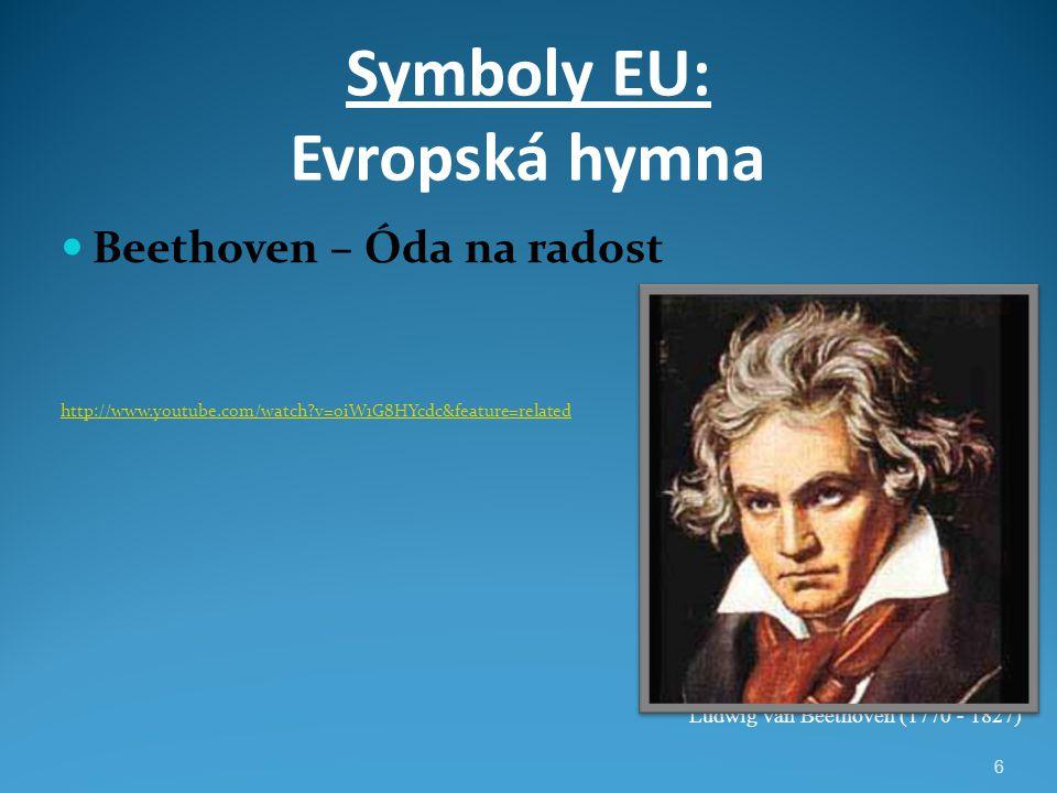 Symboly EU: Evropská hymna