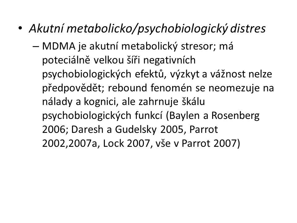 Akutní metabolicko/psychobiologický distres