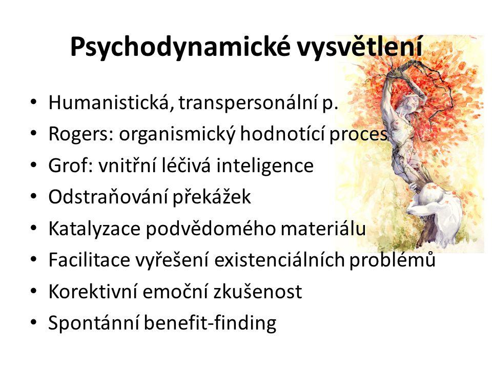 Psychodynamické vysvětlení