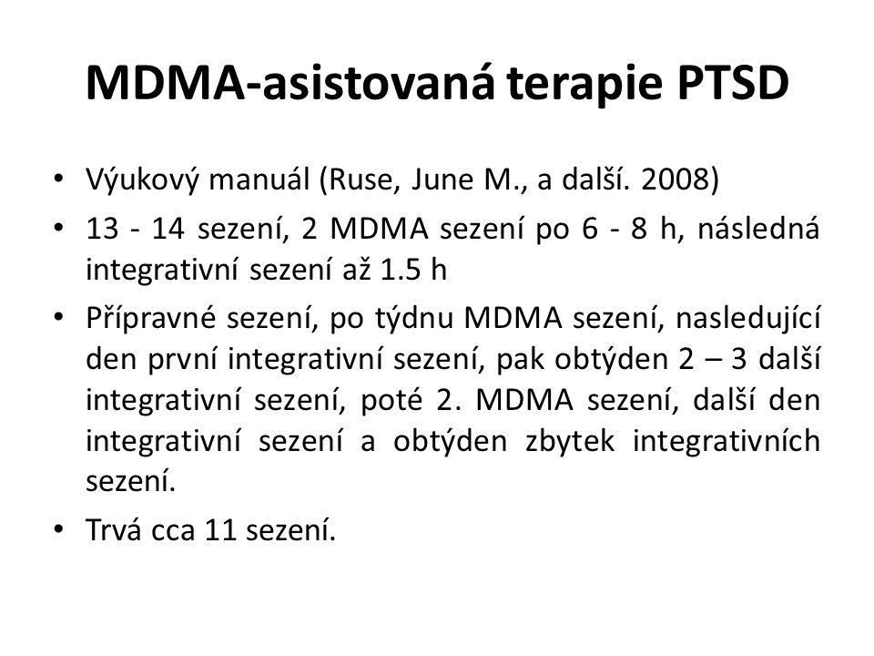 MDMA-asistovaná terapie PTSD