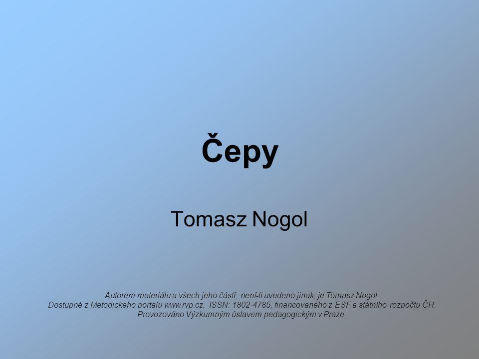 Čepy Tomasz Nogol.