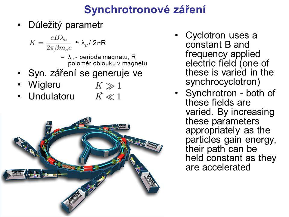 Synchrotronové záření
