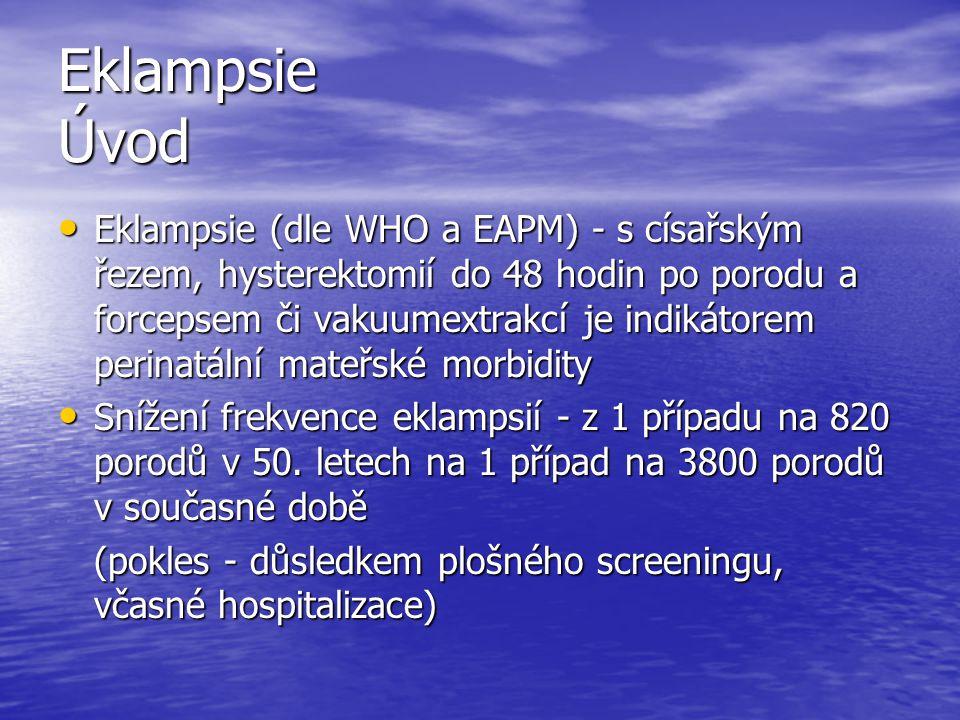Eklampsie Úvod