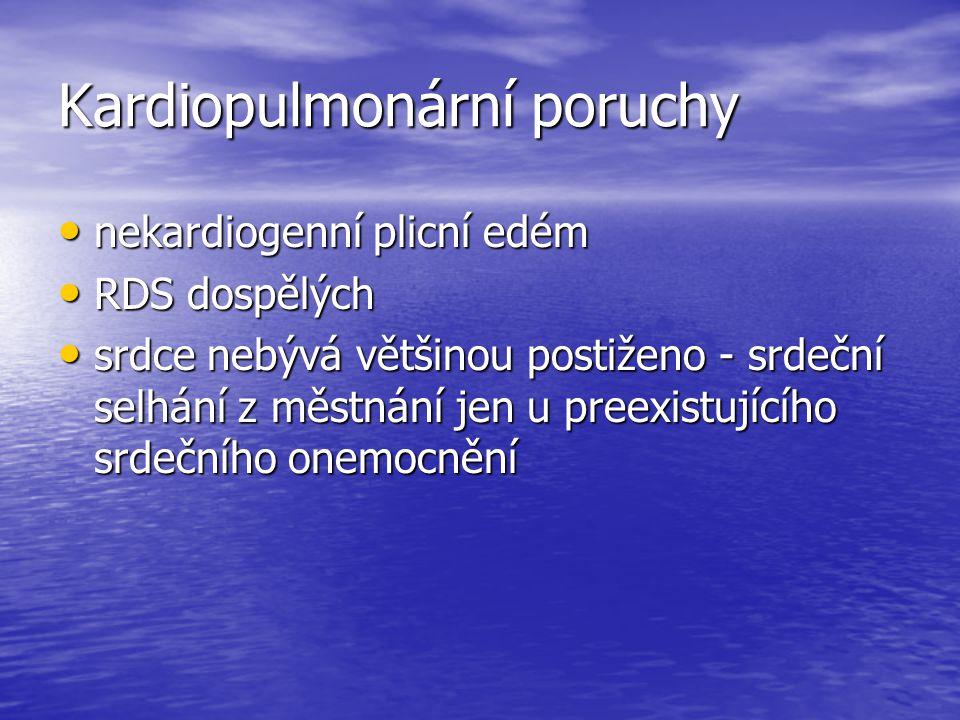 Kardiopulmonární poruchy