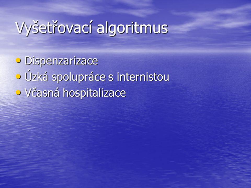Vyšetřovací algoritmus