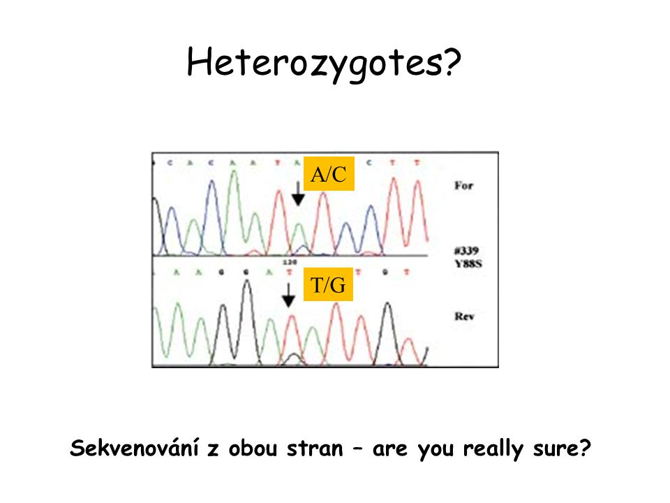 Sekvenování z obou stran – are you really sure